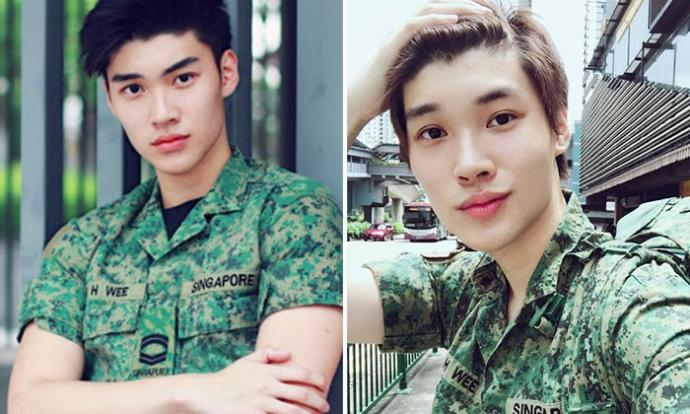 Hot SAF Soldier Gives Tips To All Army Newbies And Goes Viral Stomp - Army hairstyle singapore