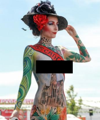 Zm Body Paint Competition