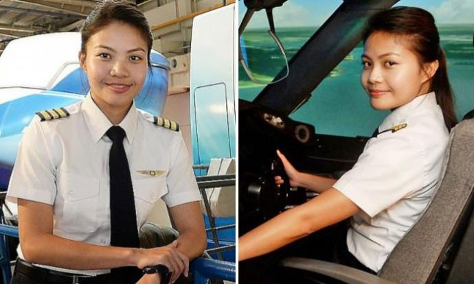 Singaporean Who S First Malay Woman To Become Pilot For