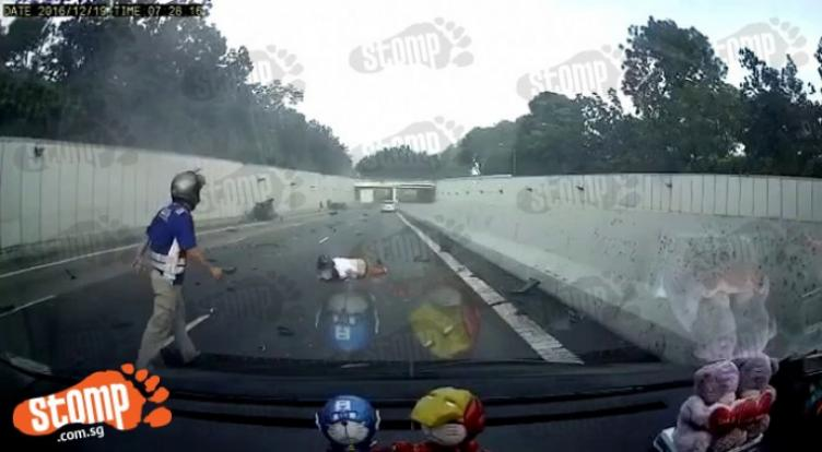 Aye Accident That Left Driver Dead New Video Shows