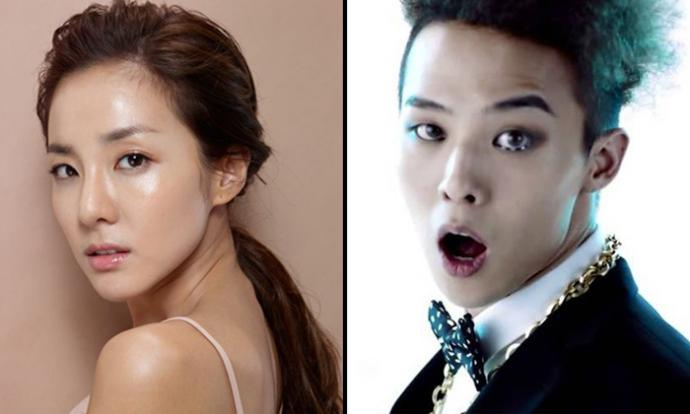 G-Dragon spotted kissing and protecting Sandara Park after ...