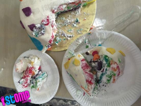 Where to start about this disappointing 85 cake that ruined 8 year