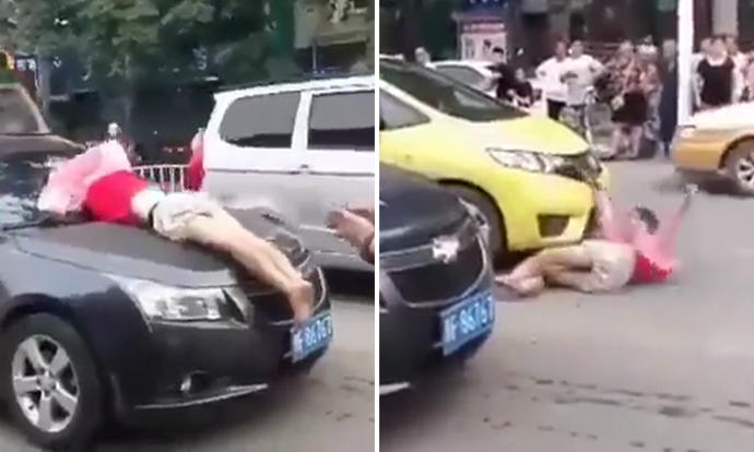 Of all car accident scams in China, this 'victim' has the ...