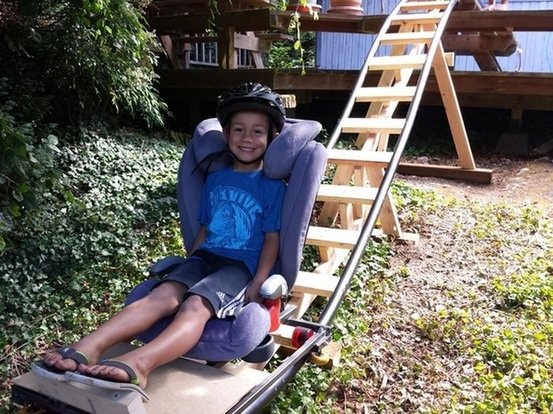 Kid Roller Coaster In Backyard :  next level by building roller coaster for kids  Youthphoria  Stomp