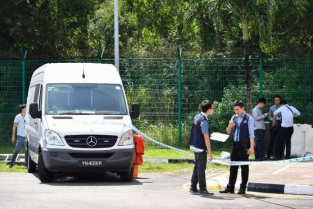 singapore seen year woman found murdered drain tanah merah ferry terminal