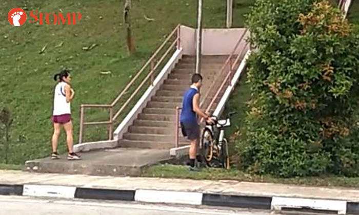 oBike has filed a police report following a viral video on Stomp showing the couple dumping their bikes into a drain