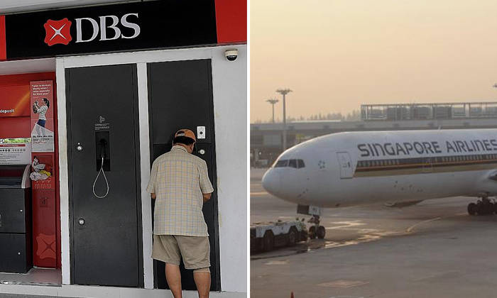 Several victimswere cheatedinto providing their personal information and credit card details on DBS and SIA phishing websites (PHOTOS: THE STRAITS TIMES)