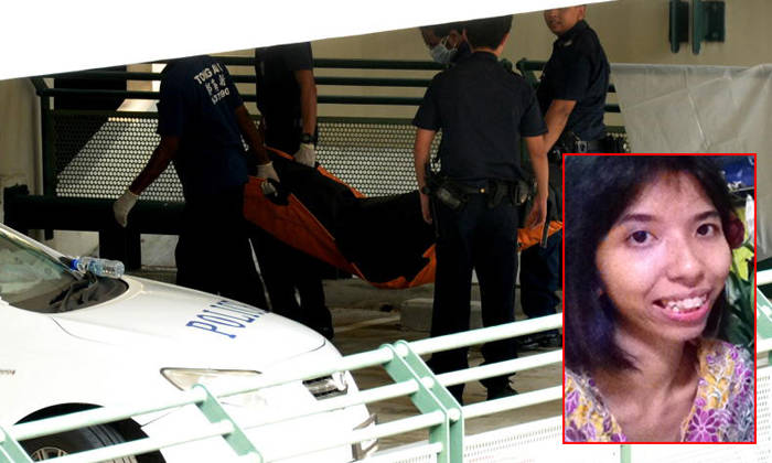 Syed Maffi Hasan was convicted of murder after he conceded that he had flung part-time waitress Atika Dolkifli?(inset) down a multi-storey carpark after a dispute over a phone she had lent him. Photo: Lianhe Wanbao