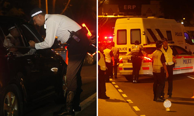 16 arrested in island-wide TP enforcement operations against drink-driving
