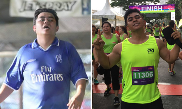 Realife: Dad who went from 'ah pui' to 'abang body' shares how he lost 13kg in 10 months