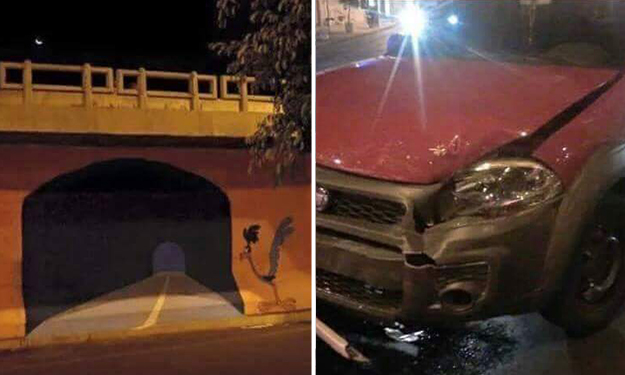 Having a bad day? It can't be worse than this driver's