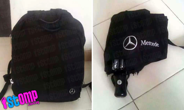 Anyone seen Stomper's Mercedes backpack lost in Hougang? It contains a laptop and other beloved items