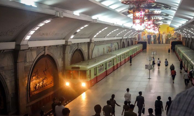 Subway stations in North Korea: They're nothing like what you'd expect