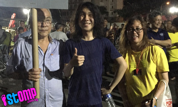 Is that Amos Yee at SDP's rally for Bukit Batok by-election?