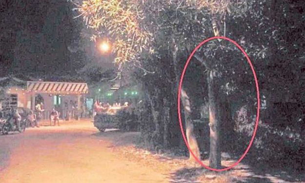 Can you see her? 'Female spirit' haunts village in Malacca