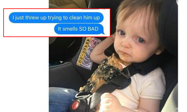 Mum leaves baby alone with dad for one night... and it's complete disaster