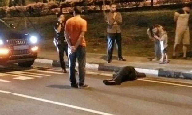 Woman lies on road after arguing with BF at East Coast Park Service Road