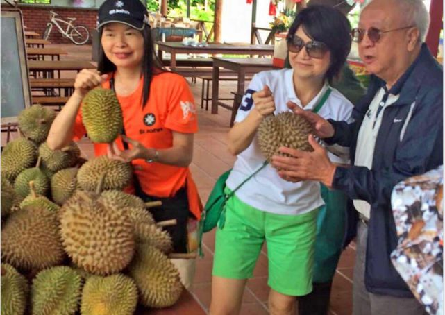 Enjoy free durian feast, but pay $50 fine if you vomit in tour van