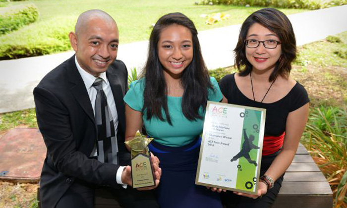 Sec 5 Ace Teen award winner with ADHD used to think she was 'stupid'