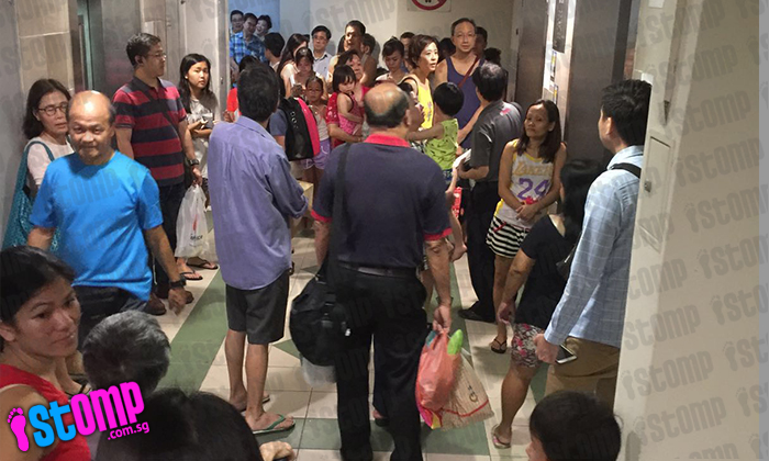 Residents evacuated from their houses as fire breaks out at Bishan flat
