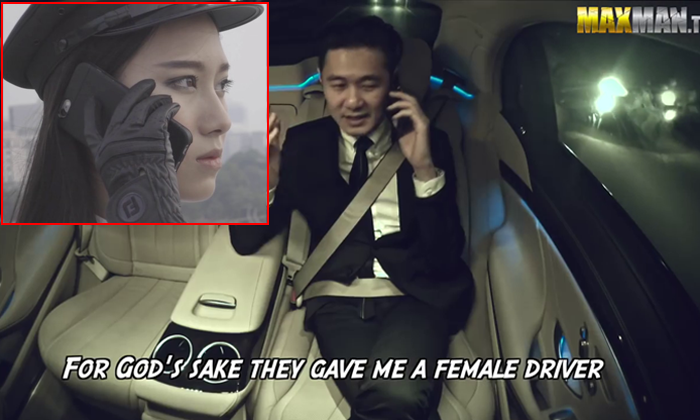 Sexist passenger who judged female driver gets 'owned' in epic prank
