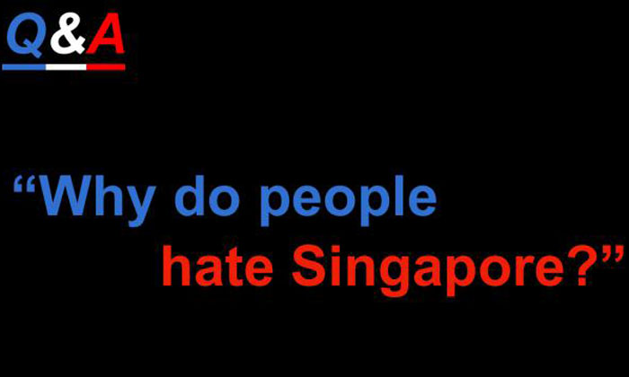 'Ang Moh' gives his take on why people hate Singapore