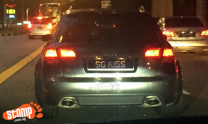 How about giving this driver a 'kiss'?