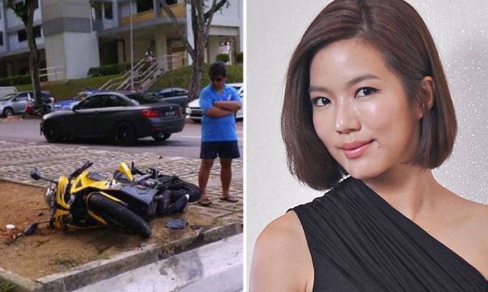 Actress Rui En charged with inconsiderate driving; intends to plead guilty