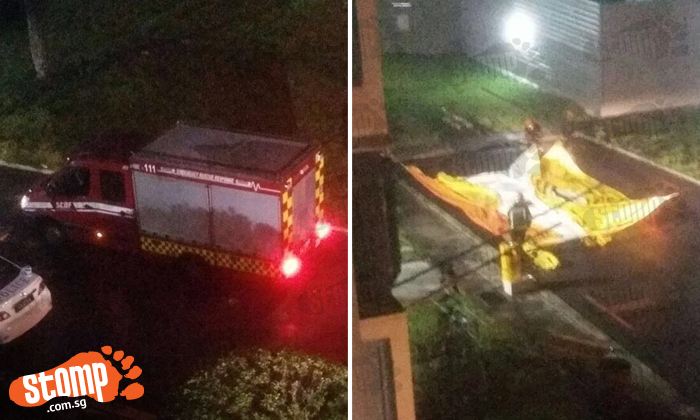 Shouting and crying heard as man threatens to jump from Toa Payoh block