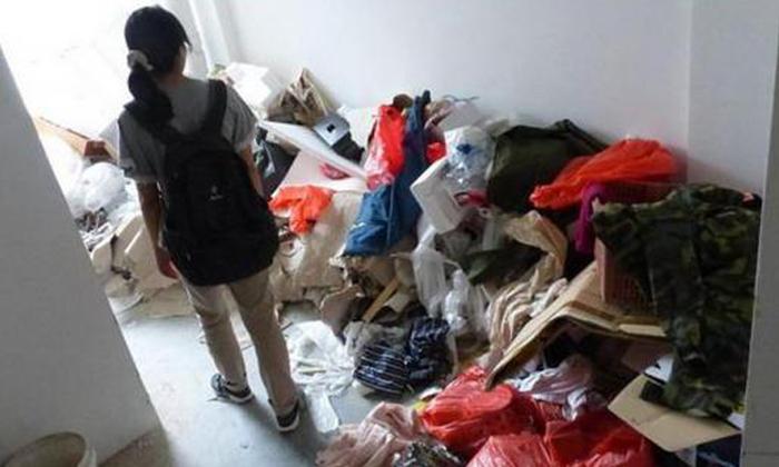 Mountain of trash attracts flies at new HDB estate in Choa Chu Kang