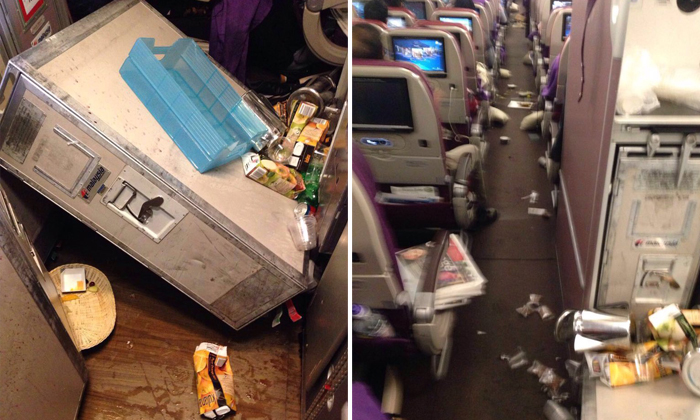 Passengers and crew injured during 'severe turbulence' on Malaysia Airlines flight from London