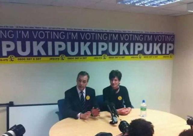 UK politician's poster goes viral in Southeast Asia -- for all the wrong reasons