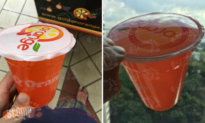 Man pays $3 at vending machine in Bishan -- only to get some 'air-range' juice
