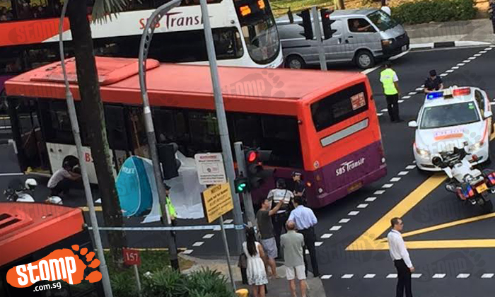 Man in his 60s dies after getting run over by bus outside Toa Payoh interchange: 36-year-old bus driver arrested
