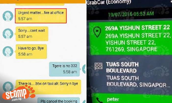 'Cabby' tries to single-handedly make life difficult for Grab drivers -- by making fake bookings