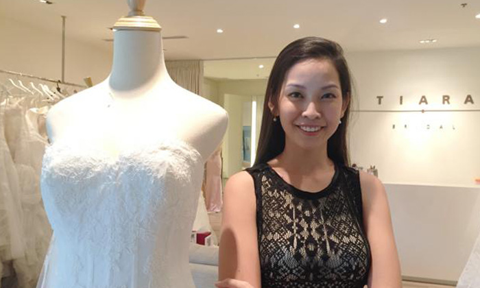 Before 'chio' bridal boutique owner was boss, she was once the face of M1
