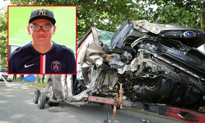 Identified: 21-year-old navy serviceman dies after SUV crashes into tree along Changi Coast Road