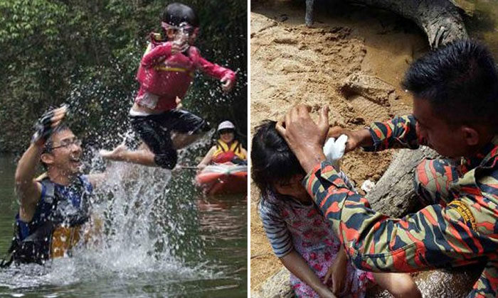 'I want my daddy,' cries girl whose dad died attempting to save her at JB waterfall