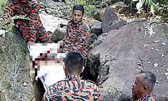 S'porean man dies after plunging 20m down JB waterfall while trying to save daughter