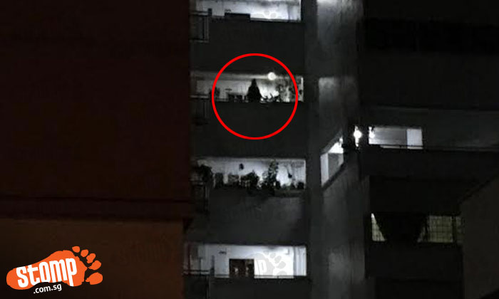 Stomper 'scared to death' after seeing tall shadowy figure at Bukit Batok HDB block