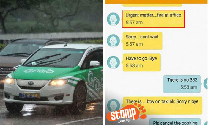 GrabCar bans cabby Stomp reported on who harassed Grab drivers by making fake bookings