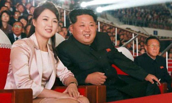 Rare photos apparently show Kim Jong-un's pretty wife