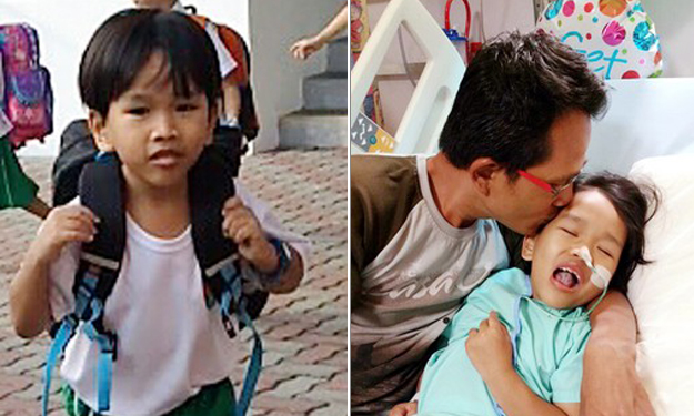 S'pore boy, 7, can't walk or talk due to brain injury after near-drowning