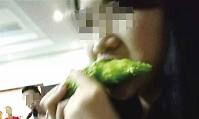 Workers in China forced to eat bitter gourd after not meeting sales target