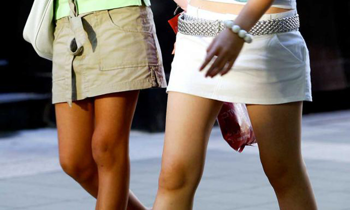Mini skirts, hot pants and shorts: Suggestion for public dress code in Singapore sparks hot debate