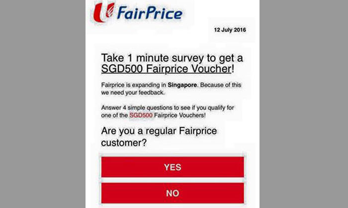 If you receive this survey, you might want to think twice before participating
