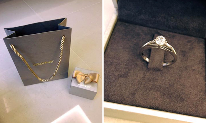 Did you lose this diamond ring? Someone wants to return it to you