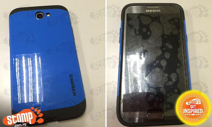 Honest cleaner finds Samsung phone at Jurong West Avenue 1 and wants to return it to owner
