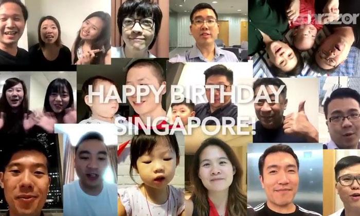 I love Singapore because...