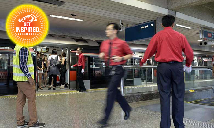 Thank you! Woman grateful to SMRT staff who helped her when she had back pain -- and even sent her home